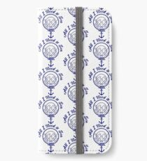 All I Need is Sea - Navy Blue iPhone Wallet/Case/Skin