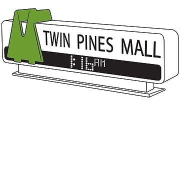 BACK TO THE FUTURE, TWIN PINES MALL by lunetta1984