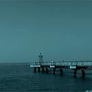 Along the pier by Dana Kay