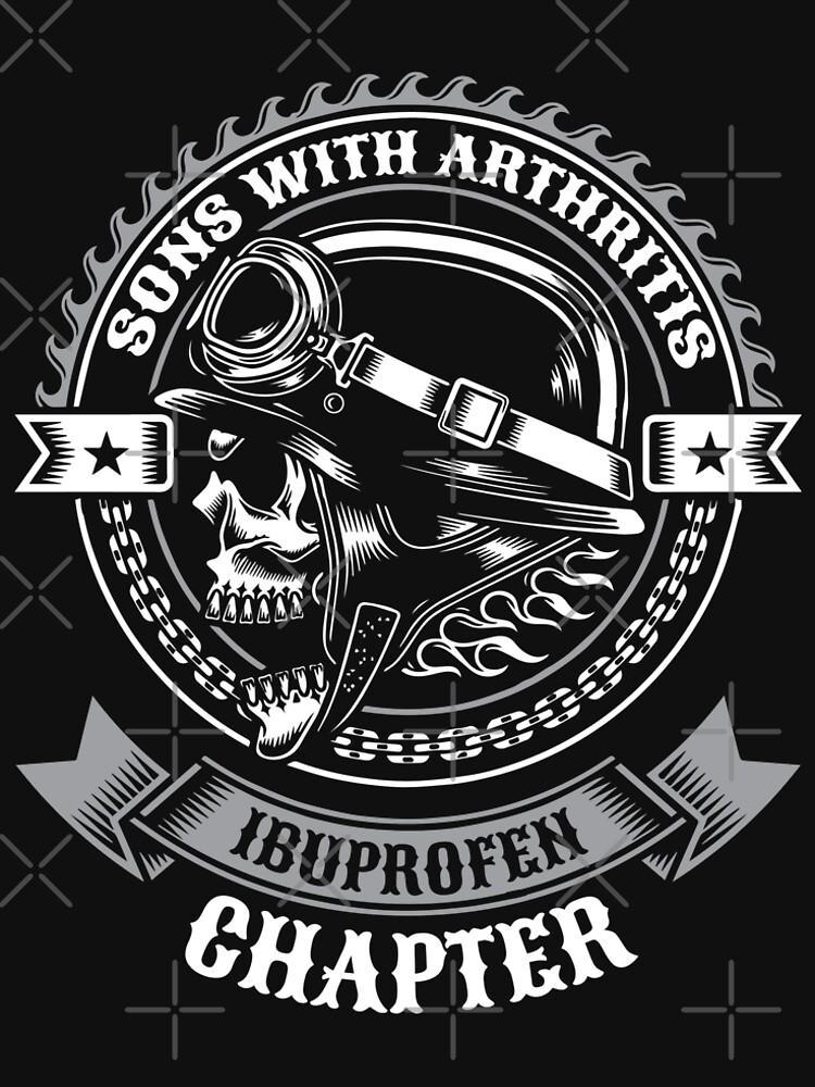 154c0895 Sons With Arthritis Ibuprofen Chapter Biker Gift