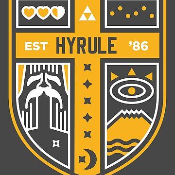 Hyrule, EST. 1986 by thom2maro