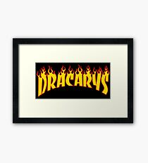 Dracarys - Game of thrones Parody Framed Print