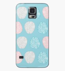 Brainy Pastel Pattern (Awesome Pastel Brains) Case/Skin for Samsung Galaxy