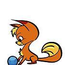 Fire Fox Baby by Andreea Butiu