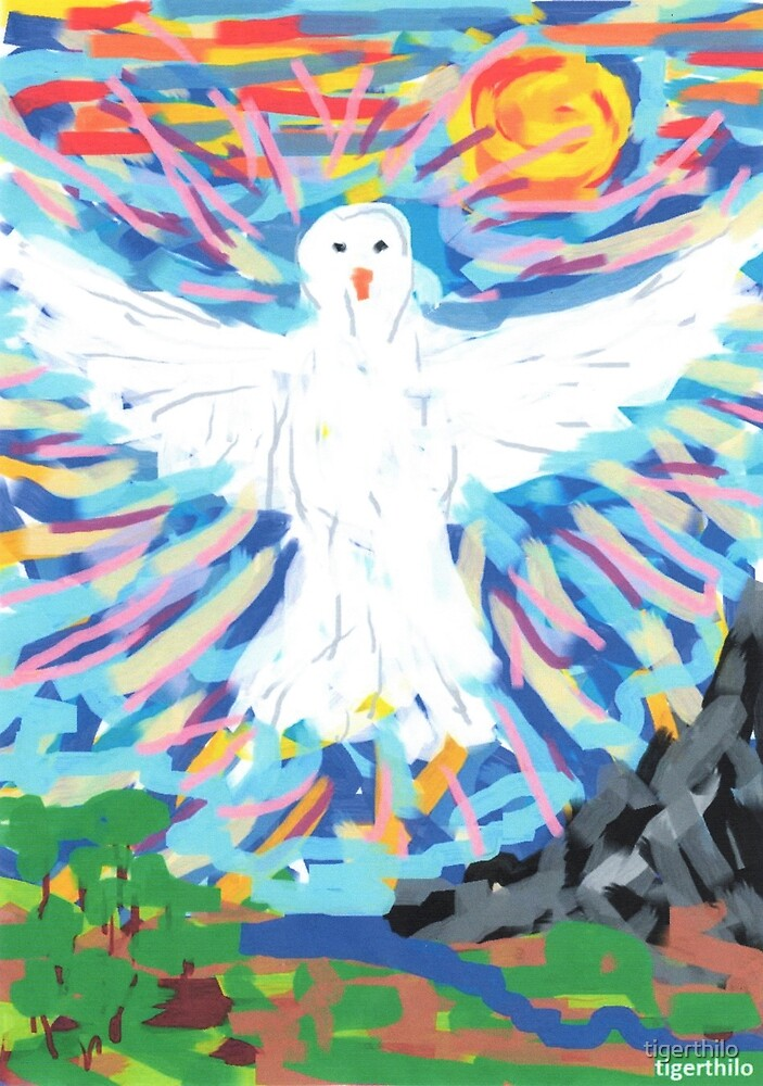 2310 - Dove of Peace Demonstrating Majesty by tigerthilo