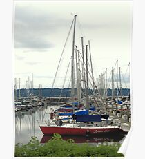At Dock For Now Poster