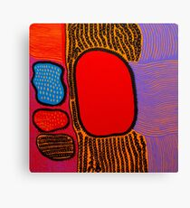 Yayoi Kusama - Life is The Heart of a Rainbow ,2017 Canvas Print