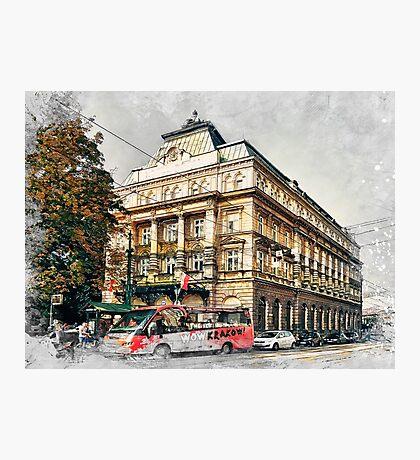 Cracow art 5 #cracow #krakow #city Photographic Print