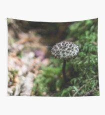 Spotted Mushroom Wall Tapestry