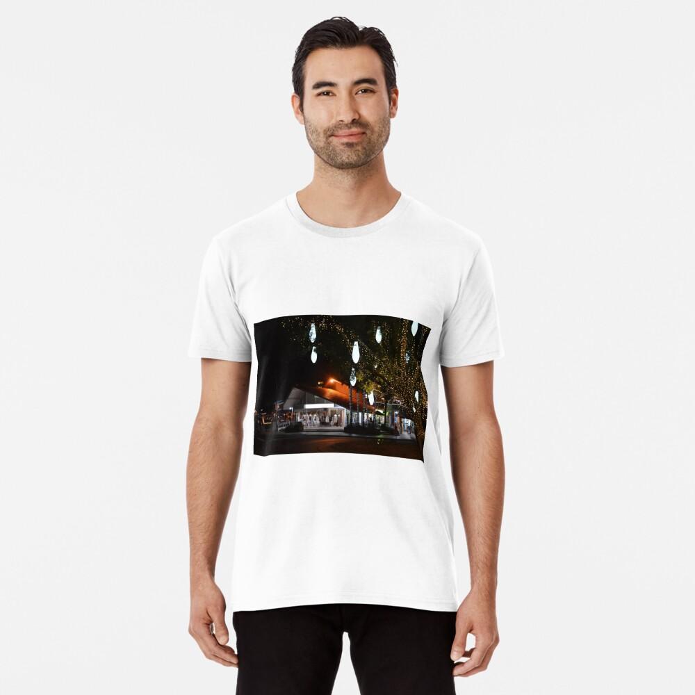 Hastings nach Einbruch der Dunkelheit Premium T-Shirt