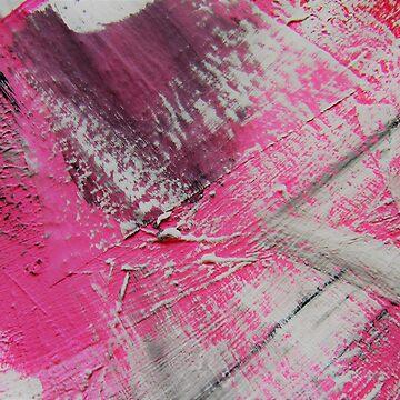 Abstrakt Pink White MW Art Marion Waschk von mwart