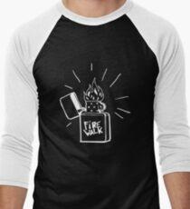 Feuerlauf Feuerzeug T-Shirt Das Leben ist seltsam Vor dem Sturm Chloe Preis T-Shirt Baseballshirt für Männer