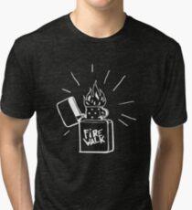 Firewalk Lighter T-shirt- Life is Strange Before the storm Chloe Price T-shirt Tri-blend T-Shirt