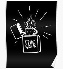 Póster Firewalk Lighter T-shirt- Life is Strange Before the storm Chloe Price T-shirt
