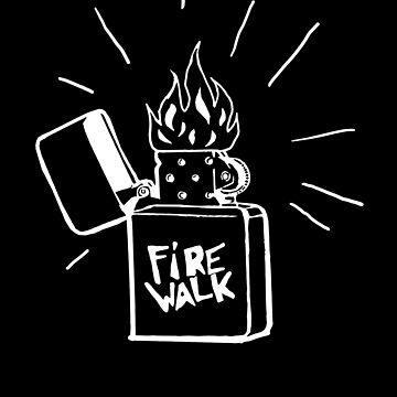 Firewalk Lighter T-shirt- Life is Strange Before the storm Chloe Price T-shirt by AmyMor
