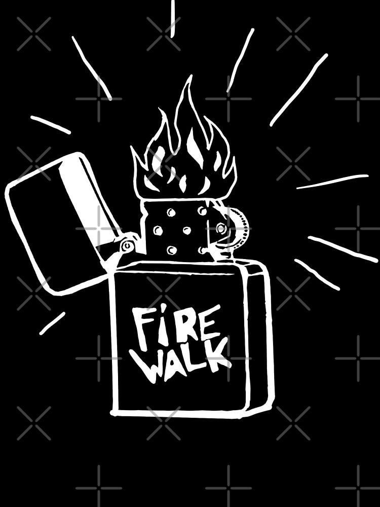 Feuerlauf Feuerzeug T-Shirt Das Leben ist seltsam Vor dem Sturm Chloe Preis T-Shirt von AmyMor