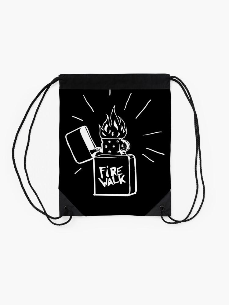 Alternative Ansicht von Feuerlauf Feuerzeug T-Shirt Das Leben ist seltsam Vor dem Sturm Chloe Preis T-Shirt Turnbeutel