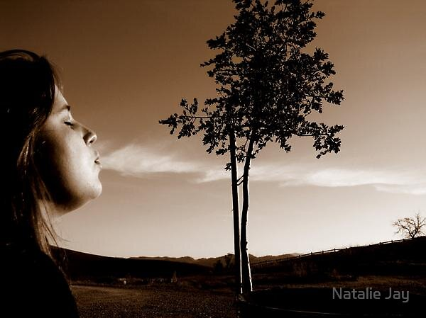 Breathe out a cloud. by Natalie Jay