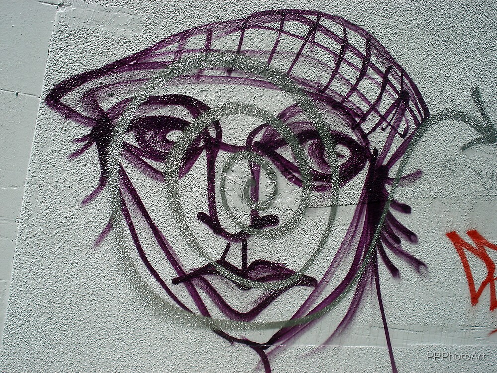 Face on a wall by PPPhotoArt