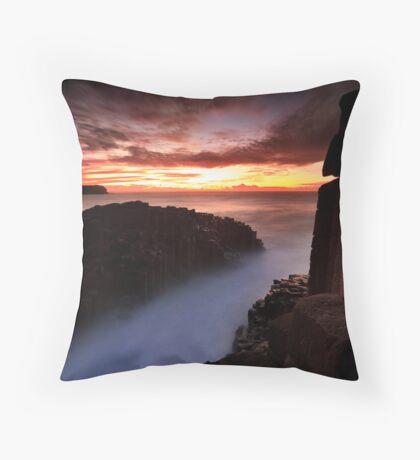 Fingal Heads Dawn Throw Pillow