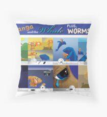 Graphic Novel Throw Pillow
