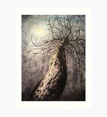 The Moon Art Print