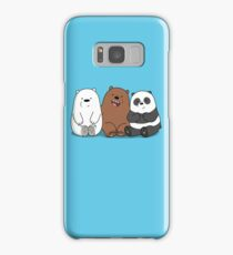 We Bare Bears Cartoon - Baby Bear Cubs - Grizz, Panda, Ice Bear Samsung Galaxy Case/Skin