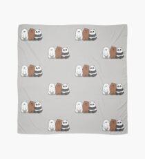 Pañuelo Bare Bears Cartoon - Baby Bear Cubs - Grizz, Panda, oso de hielo