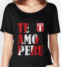 I love Peru - Te amo Peru T-shirt Women's Relaxed Fit T-Shirt