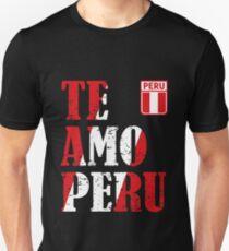I love Peru - Te amo Peru T-shirt Unisex T-Shirt
