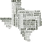 Texas Beer Lovers' Merch (dark brown) by texashandmade