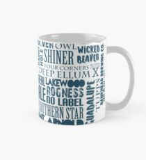 Texas Beer Lovers' Merch (blue) Classic Mug