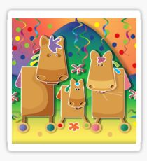 Pinata Party Ponies TShirt Sticker