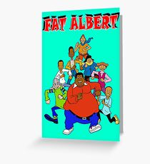 Fat Albert Greeting Card