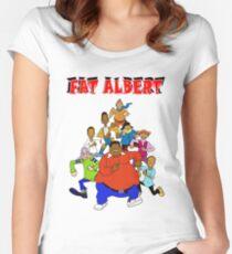 Fat Albert Women's Fitted Scoop T-Shirt
