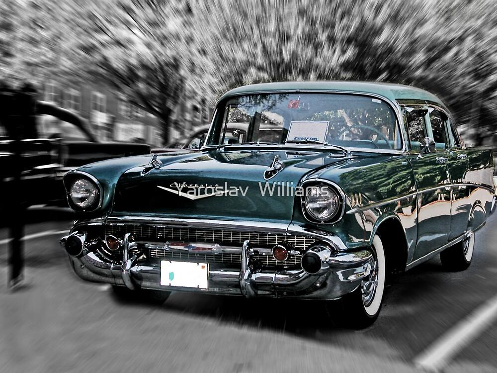'57 chevy by Yaroslav  Williams
