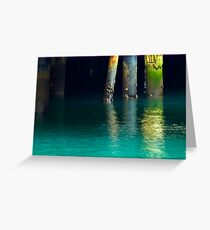 Light Air Water Greeting Card