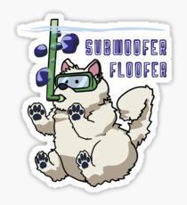 Subwoofer Floofer Sticker