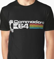 Retro Commodore 64 Graphic T-Shirt
