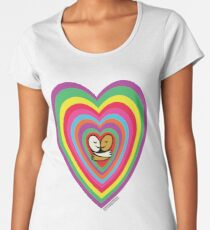One Bright Heart V2 Women's Premium T-Shirt