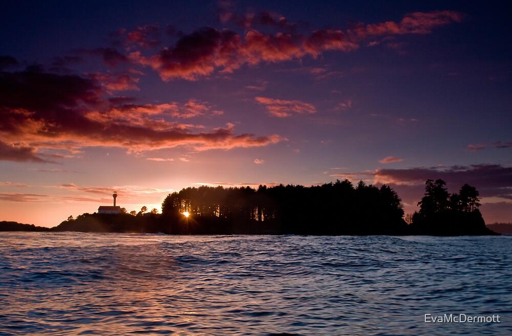 Clayoquot Sound Sunset by EvaMcDermott