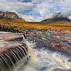 The Cauldron. Waterfall and Mist. Glencoe. Scotland. by Barbara  Jones ~ PhotosEcosse