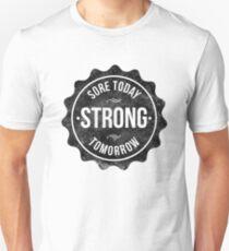 Sore Aujourd'hui Forte Demain T-shirt ajusté
