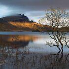 Alter Mann von Storr. Sonnenaufgang. Trotternish. Isle of Skye. Schottland. von Barbara  Jones ~ PhotosEcosse