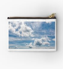 cloudy dynamic formation on a blue summer sky Studio Pouch