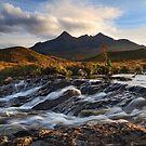 Sgurr Nan Gillean. Sligachan. Isle of Skye. Scotland. by PhotosEcosse