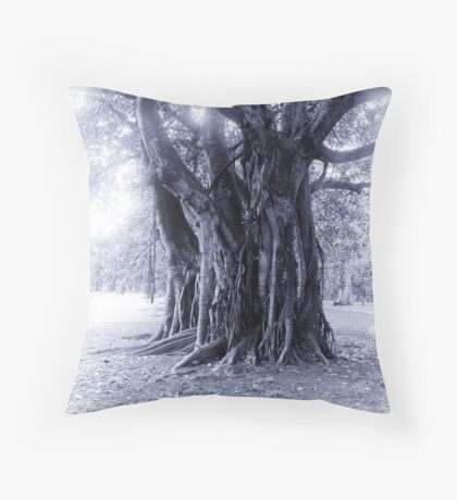 Giger's Tree Throw Pillow