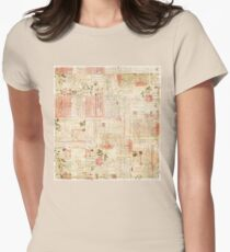 Collage magazine Women's Fitted T-Shirt