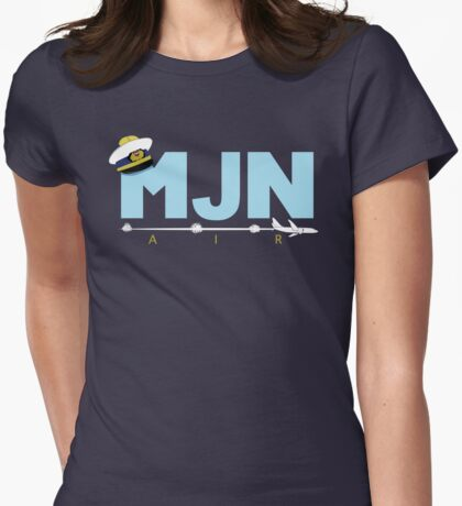 MJN Air  Womens Fitted T-Shirt