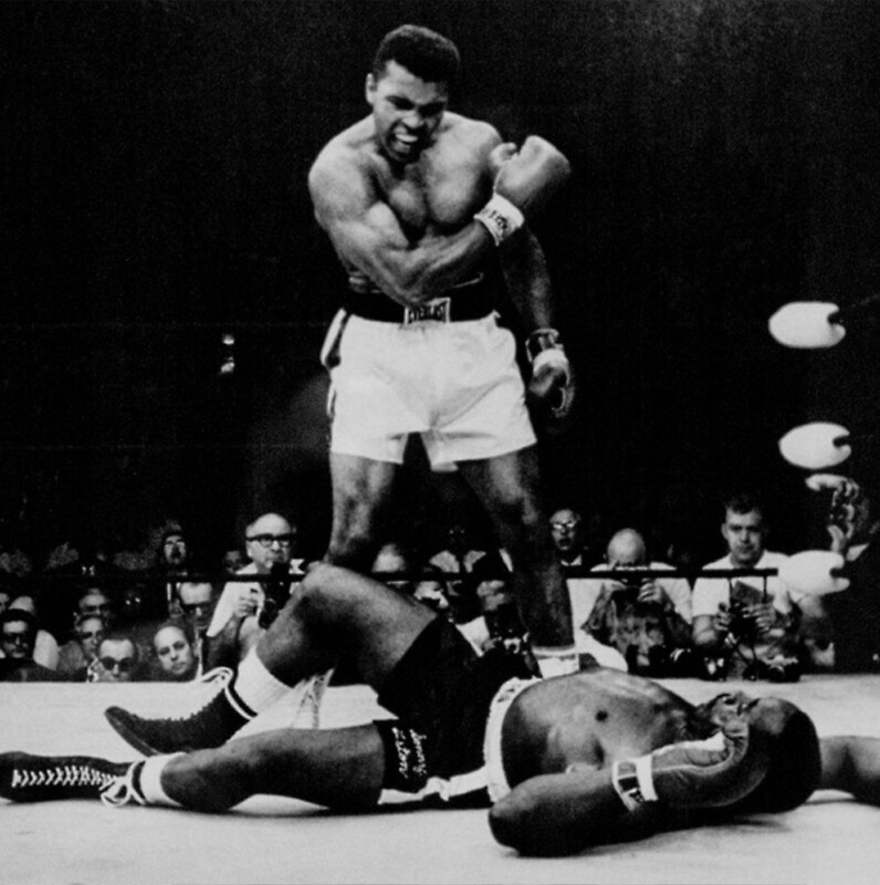 Muhammad Ali Knocks Out Sonny Liston By Balzac